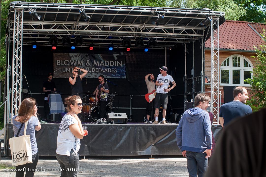 Blowm & Maddin und de Maudefaades