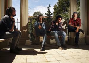 Die Rockmusiker von Ulster Page aus Südfrankreich